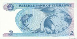 2 Dollars ZIMBABWE  1994 P.01c pr.NEUF