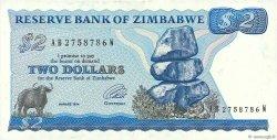 2 Dollars ZIMBABWE  1994 P.01d SUP+