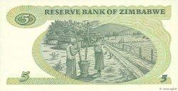 5 Dollars ZIMBABWE  1994 P.02e NEUF