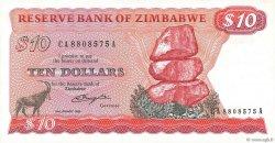 10 Dollars ZIMBABWE  1980 P.03a pr.NEUF
