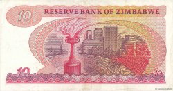10 Dollars ZIMBABWE  1983 P.03d TTB