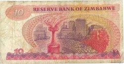 10 Dollars ZIMBABWE  1994 P.03e B