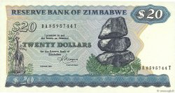 20 Dollars ZIMBABWE  1983 P.04c pr.NEUF