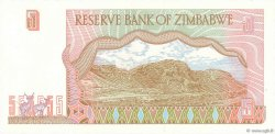 5 Dollars ZIMBABWE  1997 P.05a TTB+