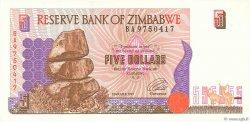 5 Dollars ZIMBABWE  1997 P.05a NEUF