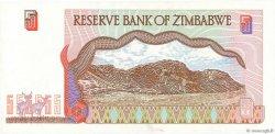 5 Dollars ZIMBABWE  1997 P.05b SUP