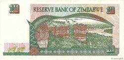 10 Dollars ZIMBABWE  1997 P.06a TTB