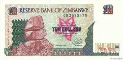 10 Dollars ZIMBABWE  1997 P.06a NEUF
