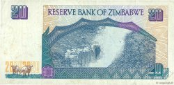 20 Dollars ZIMBABWE  1997 P.07a TB