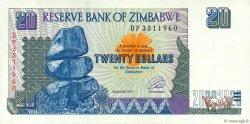 20 Dollars ZIMBABWE  1997 P.07a SUP