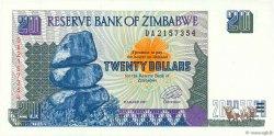 20 Dollars ZIMBABWE  1997 P.07a NEUF