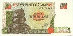 50 Dollars ZIMBABWE  1994 P.08a SUP