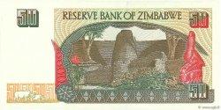 50 Dollars ZIMBABWE  1994 P.08a NEUF
