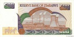 500 Dollars ZIMBABWE  2001 P.11a NEUF