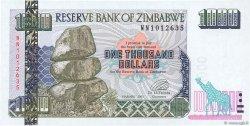 1000 Dollars ZIMBABWE  2003 P.12b NEUF