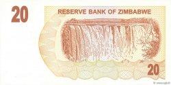 20 Dollars ZIMBABWE  2006 P.40 NEUF