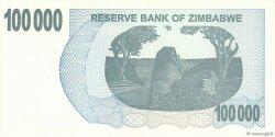 100000 Dollars ZIMBABWE  2006 P.48b NEUF