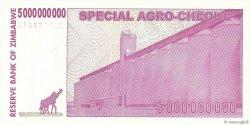 5 Billions Dollars ZIMBABWE  2008 P.61 pr.NEUF
