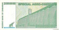 25 Billions Dollars ZIMBABWE  2008 P.62 SUP