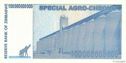 100 Billions Dollars ZIMBABWE  2008 P.64 NEUF