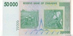 50000 Dollars ZIMBABWE  2008 P.74a NEUF