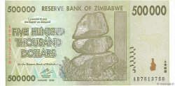 500000 Dollars ZIMBABWE  2008 P.76a pr.NEUF