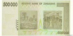 500000 Dollars ZIMBABWE  2008 P.76a NEUF