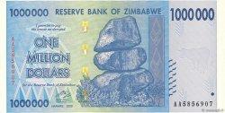 1000000 Dollars ZIMBABWE  2008 P.77 SPL