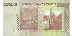 200 Millions Dollars ZIMBABWE  2008 P.81 NEUF