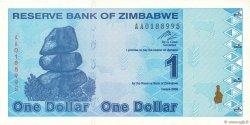1 Dollar ZIMBABWE  2009 P.92 pr.NEUF