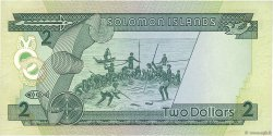2 Dollars ÎLES SALOMON  1986 P.13a TTB
