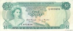 1 Dollar BAHAMAS  1968 P.27a TTB