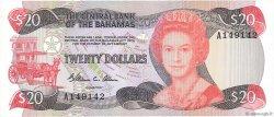 20 Dollars BAHAMAS  1974 P.47a TTB+