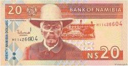 20 Namibia Dollars NAMIBIE  2002 P.06a TTB