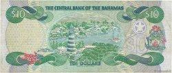 10 Dollars BAHAMAS  1996 P.59a TB