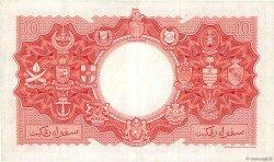 10 Dollars MALAISIE et BORNEO  1953 P.03a TB