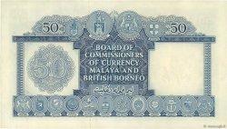 50 Dollars MALAISIE et BORNEO  1953 P.04a SPL