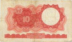 10 Dollars MALAISIE et BORNEO  1961 P.09b TB+