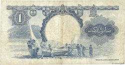 1 Dollar MALAISIE et BORNEO  1959 P.08A TB