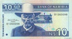 10 Namibia Dollars NAMIBIE  1993 P.01a TTB