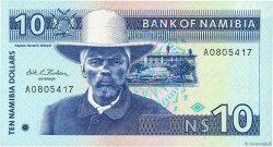 10 Namibia Dollars NAMIBIE  1993 P.01a pr.NEUF