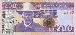 200 Namibia Dollars NAMIBIE  2003 P.10b NEUF