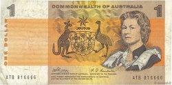 1 Dollar AUSTRALIE  1969 P.37c B
