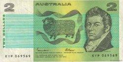 2 Dollars AUSTRALIE  1985 P.43e TB+