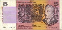5 Dollars AUSTRALIE  1985 P.44e TB