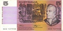 5 Dollars AUSTRALIE  1990 P.44f TTB