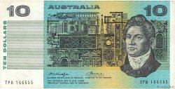 10 Dollars AUSTRALIE  1976 P.45b TB+