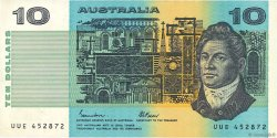 10 Dollars AUSTRALIE  1985 P.45e TTB+