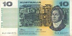 10 Dollars AUSTRALIE  1991 P.45g TB