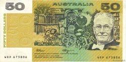 50 Dollars AUSTRALIE  1989 P.47g pr.TTB